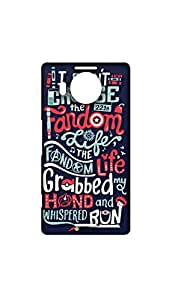 I Don't Choose The Fandom Life Designer Mobile Case/Cover For Microdoft Lumia 950 XL