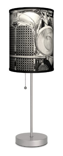 Lamp-In-A-Box SPS-TTN-AUBUR Transportation - Auburn Sport Silver Lamp at Amazon.com