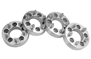 4 Jeep Wrangler Wheel Spacers Adapters 1.5 inch thick fits ALL Jeep Wrangler JK Models