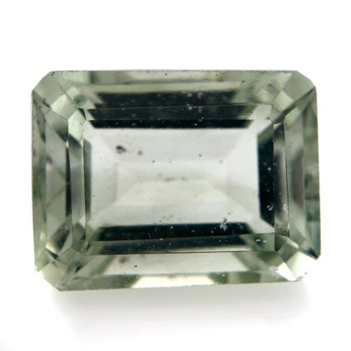 Natural Africa Green Apatite Loose Gemstone Emerald Cut 11*9mm 5.15cts SI Grade