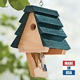 Durable Cedar Hid-a-key Birdhouse