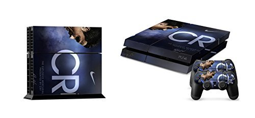 BEST-DESIGN-FC-Real-Madrid-Super-Team-Cristiano-Ronaldo-and-over-real-football-STARS-PS4-Skin-Sticker-for-Sony-PlayStation-4-System