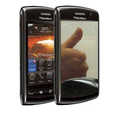 Mirror Screen Protector LCD Shield Guard for Blackberry Storm 2 9550 [WCA146]