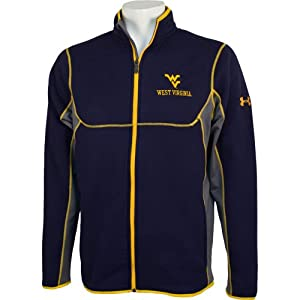 West Virginia Mountaineers Mens Under Armour Celcius Full Zip Jacket by Under Armour