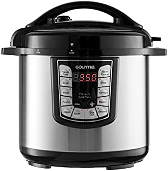 Gourmia GPC800 8-Quart Stainless Steel Pressure Cooker
