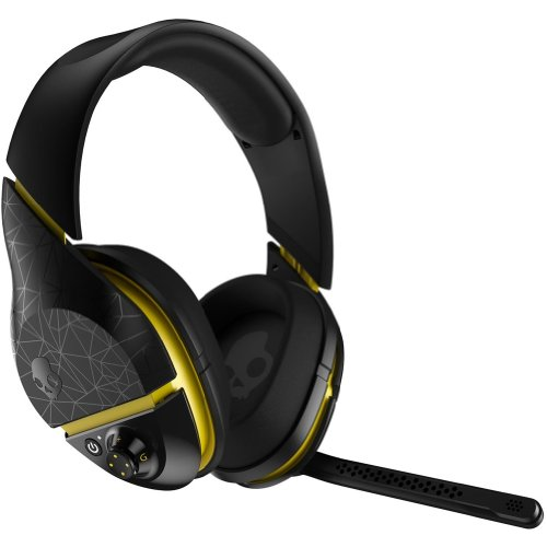 Skullcandy Plyr 2 With Boom Mic Wireless Gaming Headphone - Black/Yellow / One Size