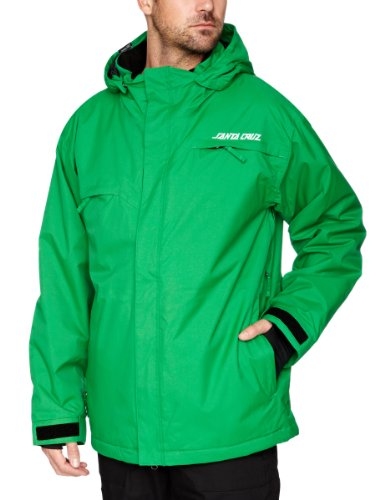 Santa Cruz Paradox Men's Snow Jacket - Fern Green, X-Large