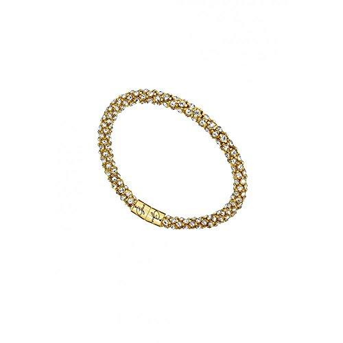 Guess Damen-Armband Metalllegierung rhodiniert Zirkonia weiß 20 cm - UBB81333 thumbnail