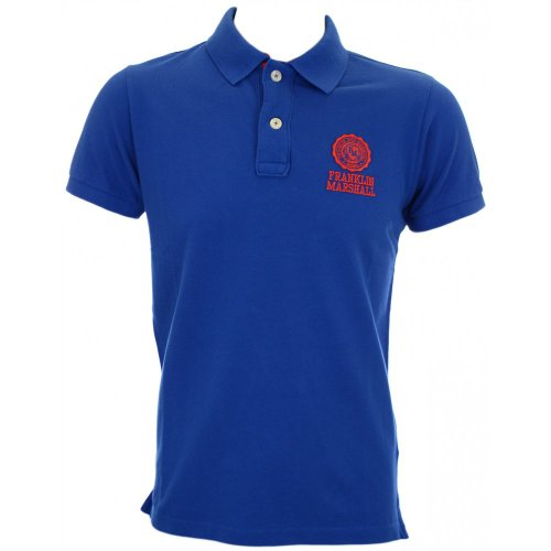 Franklin & Marshall -  Polo  - Uomo blu Large