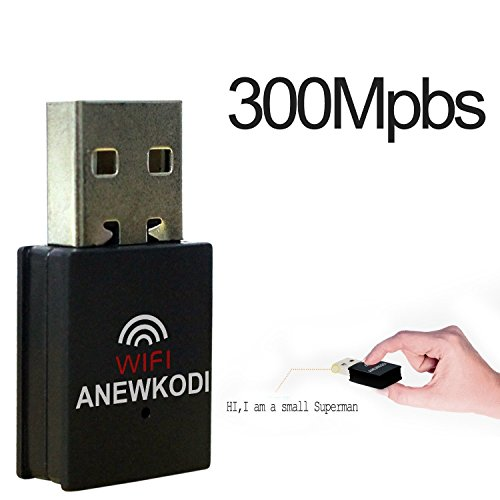 ANEWKODI 300M USB Wifi Dongle,2 4Ghz 802 11N/G/B Wireless Network Wifi  Adapter No Antenna Network Lan Card Apply to Desktop PC Laptop,for Windows