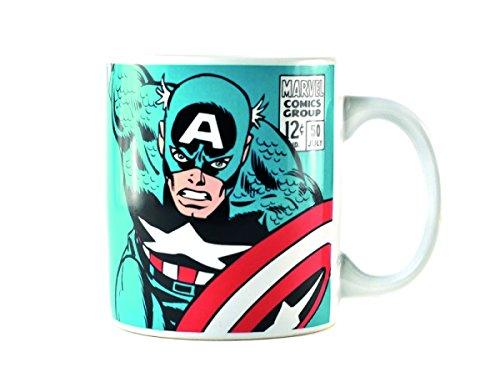 Marvel Comics Captain America Boxed Tazza in ceramica Merchandise Ufficiale