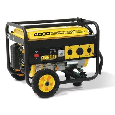 Champion Power Equipment Portable 3500 / 4000 – watt Generator with Wheel Kit