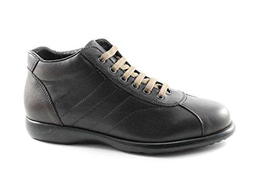 FRAU 27M4 chocolat scarpe uomo mid pedule comfort pelle 43