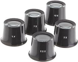 Paylak LP47995 Watchmakers Set of 5 Eye Loupe