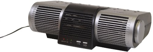 Heaven Fresh HF 210UV Ionic Air Purifier with UV Lamp - Color Silver Black (Ion Air Purifier Amazon compare prices)