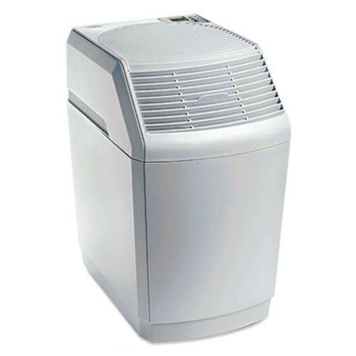 new essick air white 2 speeds economical humidifier w digital humidistat - Essick Air