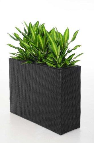 blumenk bel pflanzk bel pflanzgef e bert pfe blument pfe trennelement polyrattan elemento. Black Bedroom Furniture Sets. Home Design Ideas