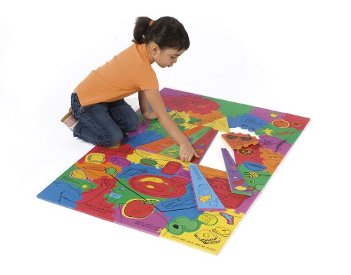 Cheap Chenille Kraft WonderFoam® Giant Land of Nutrition Activity Puzzle (B003E7FAAQ)