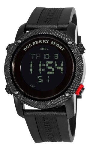 Burberry Men's BU7704 Endurance Black Multifunctional Dial Watch