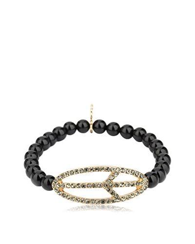 Marlyn Schiff Peace Beaded Stretch Bracelet