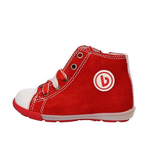 BALDUCCI sneakers bambino rosso bianco camoscio pelle AG927 (20 EU)