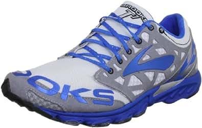 Brooks  T7 Racer,  Unisex - Erwachsene Leichtathletikschuhe , Mehrfarbig - White/Grey/Royal - Größe: 8 UK