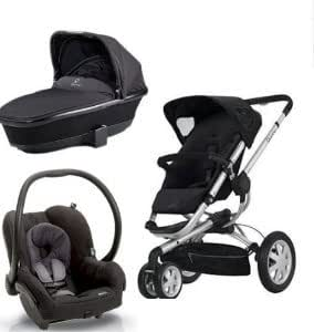 quinny buzz stroller with tukk bassinett and. Black Bedroom Furniture Sets. Home Design Ideas
