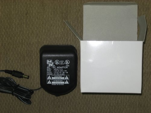 Ac Adapter Input 120Vac Output 12Vdc 700Ma