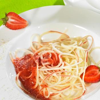 Apfelspaghetti
