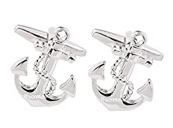 Sorella'z Anchor Cufflinks for Men's