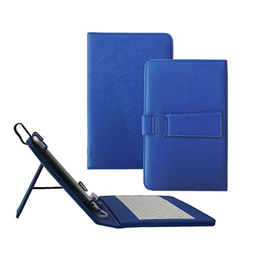 Click to buy Tsmine Samsung Galaxy Tab A 8.0 Tablet Keyboard Case - Quality Micro USB Keyboard W/ Premium PU Leather Case Stand Cover for Samsung Galaxy Tab A 8.0 SM-P350 P355 P357 Tablet, Navy - From only $15.89