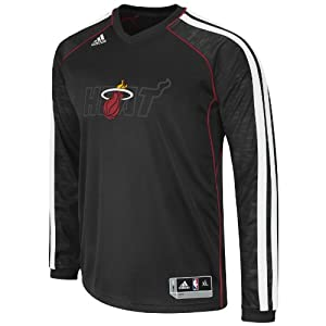 NBA Miami Heat On-Court Shooting Jersey by adidas
