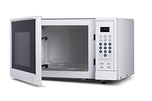 Westinghouse WCM990W 900 Watt Counter Top Microwave Oven, 0.9 Cubic Feet, White Cabinet (Small White Microwave Oven compare prices)