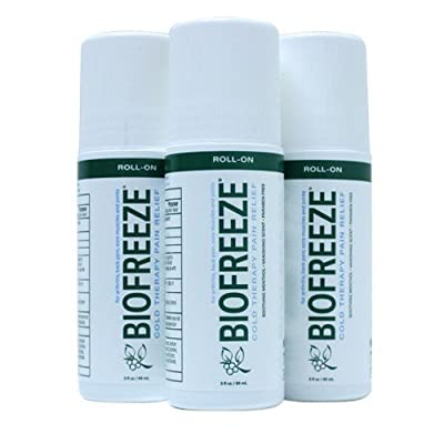 Biofreeze Pain Relieving Roll On, 3-Ounce