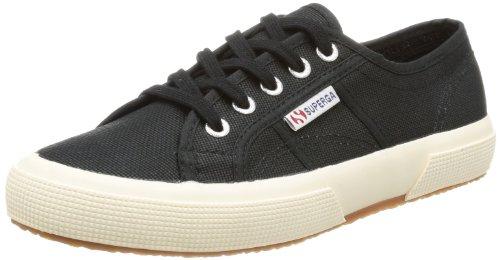 Superga 2750-Cotu Classic Sneaker, Unisex Adulto, nero (black s999), 38