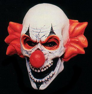 Corrupted Clown Mask - Buy Corrupted Clown Mask - Purchase Corrupted Clown Mask (SpookShop.com, Apparel, Departments, Accessories, Women's Accessories)