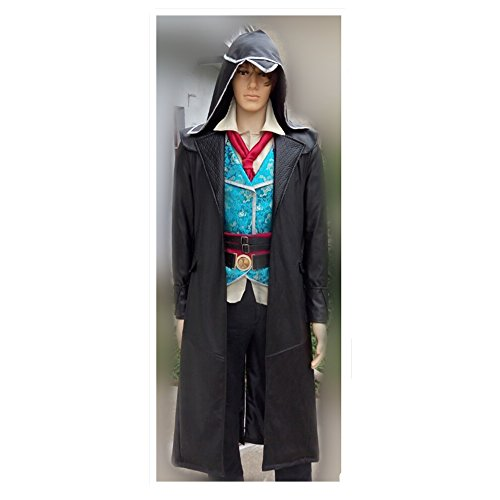 Cos-me Assassin's Costumes Creed Syndicate Cosplay Costume Uniform