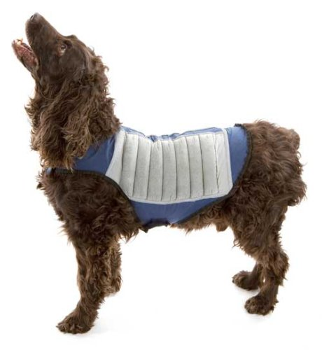 Cool K-9 Evaporative Cooling Dog Reflective Safety Vest - Medium