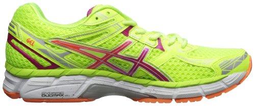 Asics women 39 s gt 2000 2 running shoe flash yellow hot pink for Fish tennis shoes