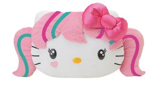 Hello Kitty Japanimation Face Pillow Plush Cushion