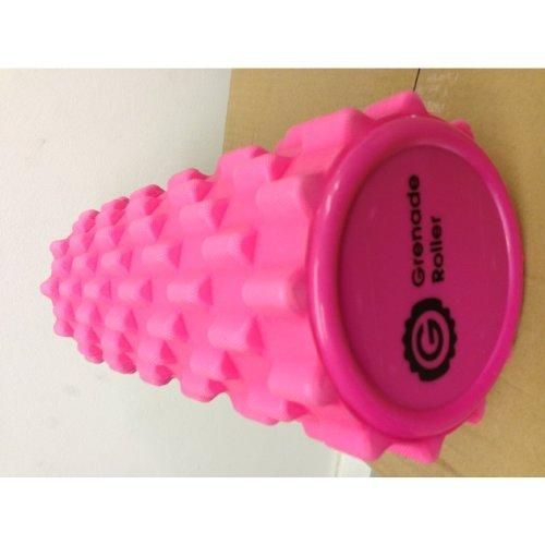 Grenade Foam Roller Pink with 3 Spiky Massage Balls