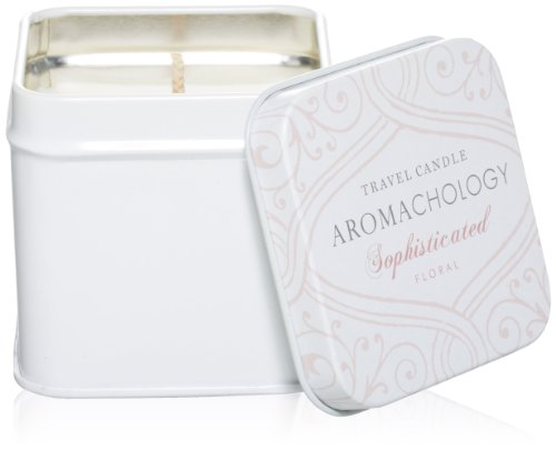 AROMACHOLOGY Soy Wax Travel Candle, Sophisticated