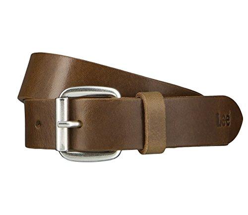 Lee Cintura di uomini Cintura di Pelle verde 4652, Länge:95 cm;Farbe:grün