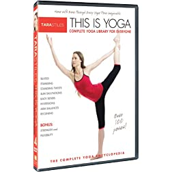 Tara Stiles This is Yoga DVD 4: Complete Yoga Library for Everyone