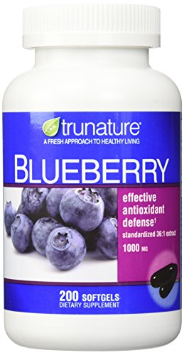 TruNature Blueberry Standardized Extract 1000