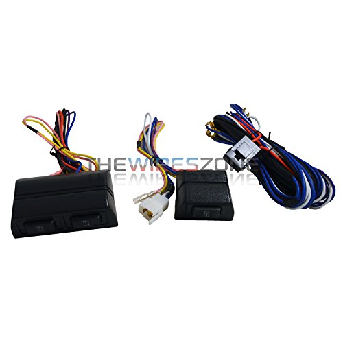 Spal non illuminated power door lock switch with harness for 2 door power window switch kit