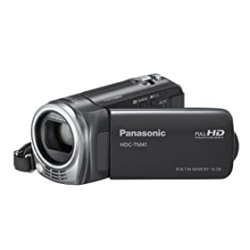 Panasonic HDC-TM41H HD Camcorder with 16GB Internal Flash Memory (Black)