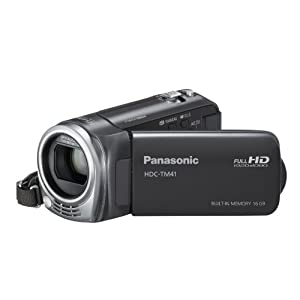 Panasonic HDC-TM41H HD Camcorder with 16GB Internal Flash Memory(Limited Time Offer)