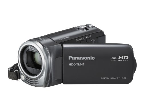 Panasonic HDC-TM41H HD Camcorder with 16GB Internal Flash Memory