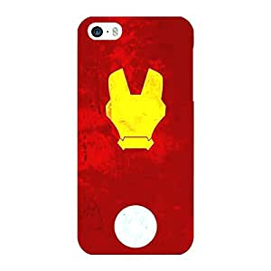 Jugaaduu Superheroes Ironman Back Cover Case For Apple iPhone 5S